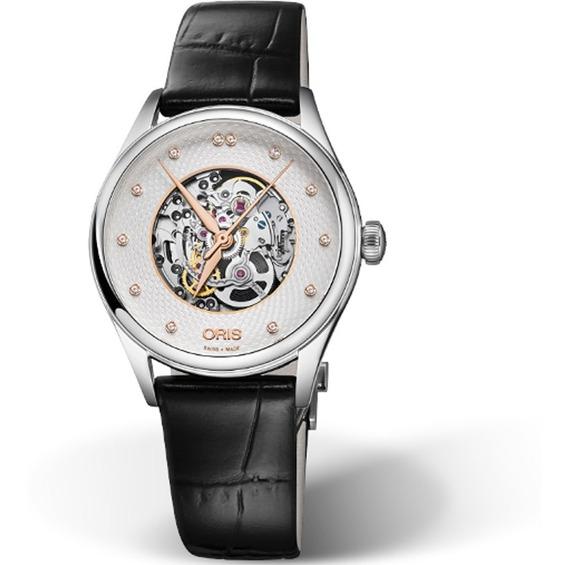 Reloj Oris Artelier Automatico Skeleton Or56077244031pc