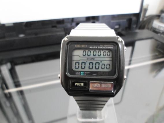 Seiko Pulsemeter Alarm Chronograph Caballero