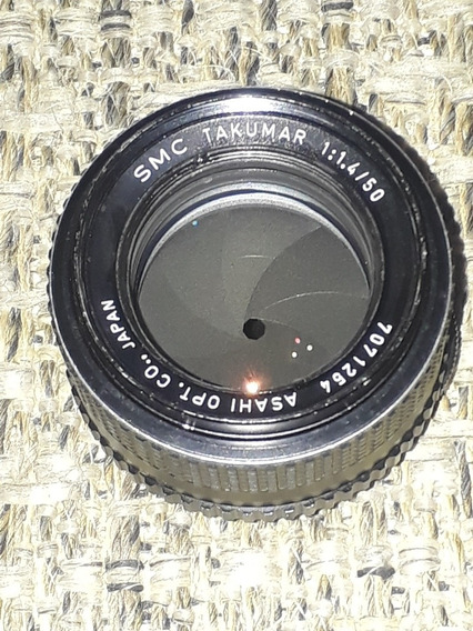 Pentax Smc Takumar 50mm F/1.4 Rosca M42