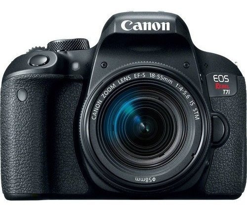 Canon Eos Rebel T7i Com Lente 18-55mm