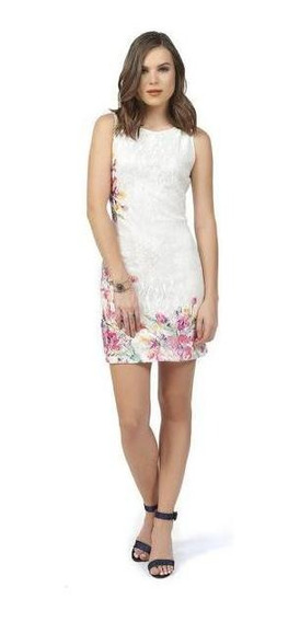 Vestido Formal Color Blanco Para Dama Mundo Terra 019594