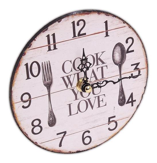 Reloj De Mesa Madera Decorativo Diseño Moderno Ramos Mejia