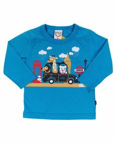 aef801bd08 Camiseta Infantil Menino Longa Taxi London - Boca Grande