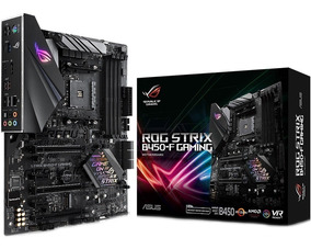 Placa-mãe Asus Rog Strix B450-f Gaming Aura Crossfire Am4