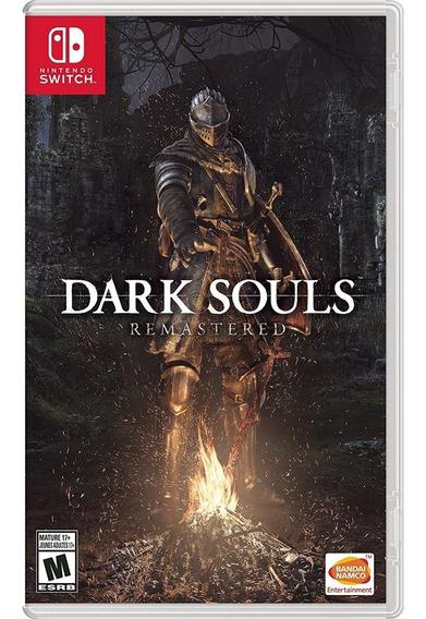 Dark Souls Remastered Switch Mídia Física Lacrado Original