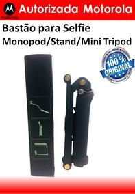 Bastão Para Selfie Monopod/stand/mini Tripod 3-way