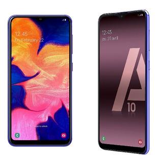 Samsung Galaxy A10 + Funda 32gb 2gb Ram Libres 3400mah Dual Sim Nuevos