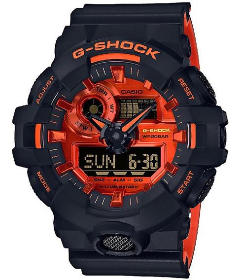 Reloj Casio G Shock Ga-700br-1 Original Para Hombre E-watch