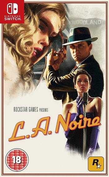 La Noire ( L.a. Noire) - Switch - Pronta Entrega!
