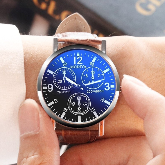 Relógio Casual Masculino : Modiya