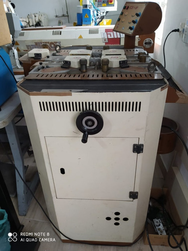 Máquina Galli Para Acabamento Em Cintos, Pinta, Arredonda