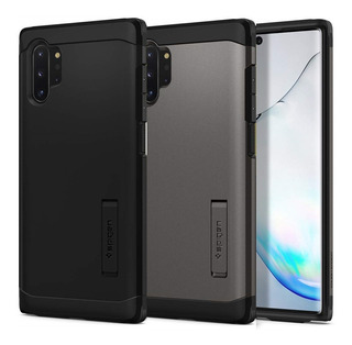 Capa Spigen Tough Armor Samsung Galaxy Note 10 / Note 10 Plus 10+ Case Proteção Premium Anti Impacto Tpu + Policarbonato