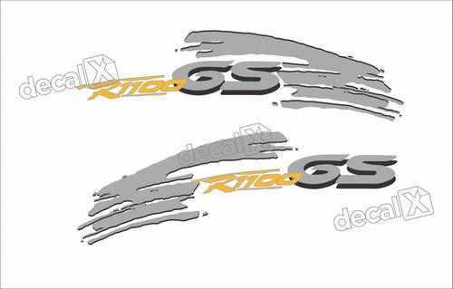 Emblema Adesivo Bmw R1100gs Par Bmwr1100gs