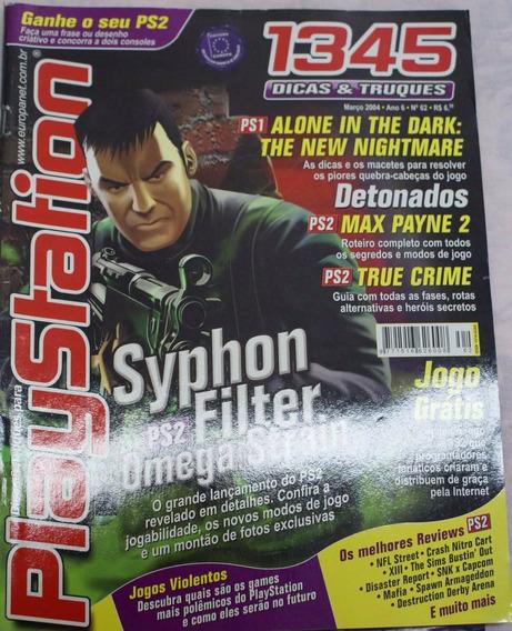 Revista Dicas E Truques Para Playstation Nº. 62 - Excelente!