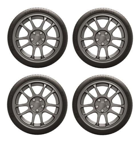 Imagen 1 de 10 de Combo Kit X4 265/45 R20 Michelin Latitude Sport 3 104 Y N0