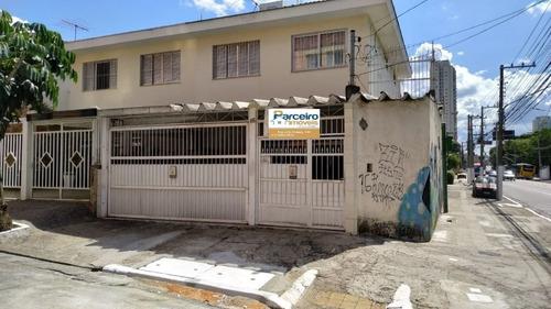 Sobrado Com 3 Dormitórios À Venda, 160 M² Por R$ 830.000,00 - Chácara Tatuapé - São Paulo/sp - So2943