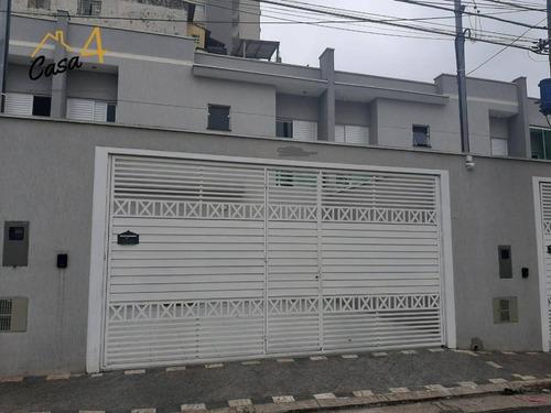Imagem 1 de 28 de Sobrado Frontal Novo Na Vila Esperança!!! - So0399