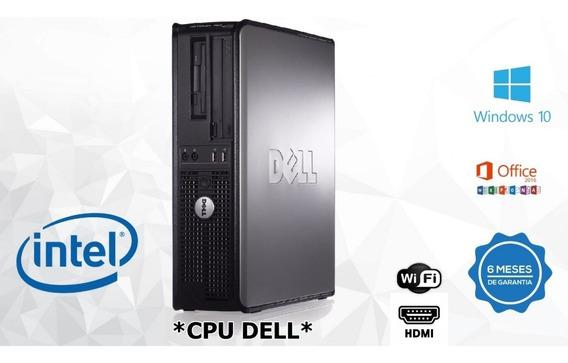 Dell Optiplex Core2duo/ 2gb Ddr2 / Hd 320 C/ Hdmi/ Wi-fi