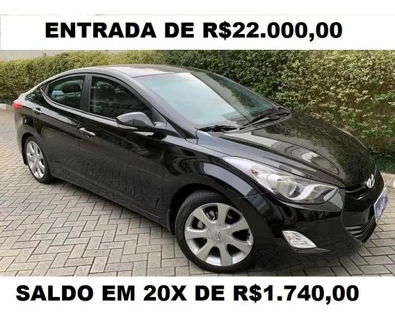 Hyundai Elantra Gls - 2012 - Baixa Km - Blindado