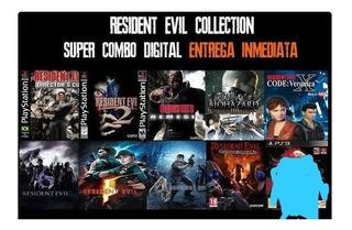 Resident Evil . Digital Ps3 Colección