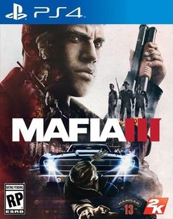 Mafia Iii Ps4 Fisico - Audiojuegos