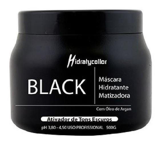 Mascara Matizadora Black Mairibel Óleo De Argan Pt 500g