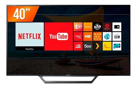 Smart Tv Led 40 Full Hd Sony Kdl-40w655d 2 Hdmi Usb Wi-fi