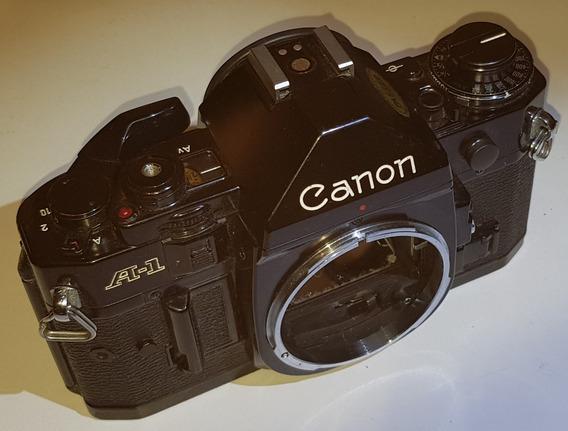 Camera Canon A-1- Com Defeito, Serve Para Retirar Peças