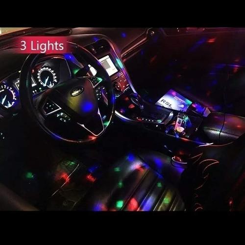 Luz Led Usb Para Auto