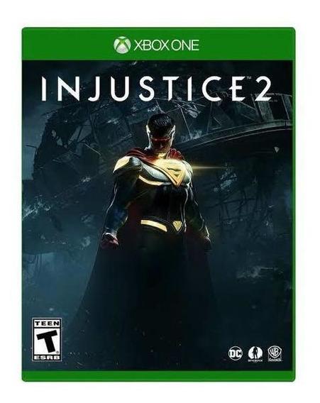 Injustice 2 Xbox One Mídia Física