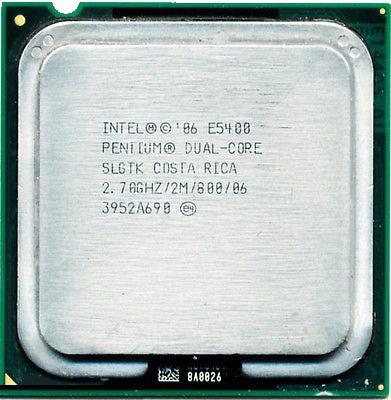 Processador Intel Dual Core E5400 2.7ghz 2mb Lga775 Slgtk
