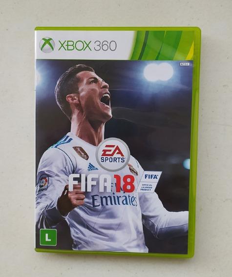 Jogo Fifa 18 - Xbox 360 - Usado - Original - Mídia Física