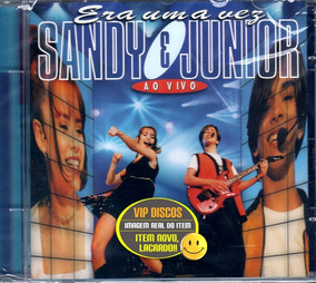 Cd Sandy E Junior Era Uma Vez Ao Vivo - Novo Lacrado Raro