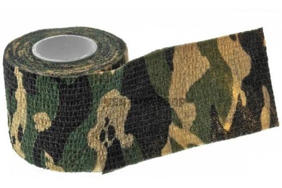 Fita Adesiva Camo Tape P/ Airsoft Paintball Carabina Lunetas