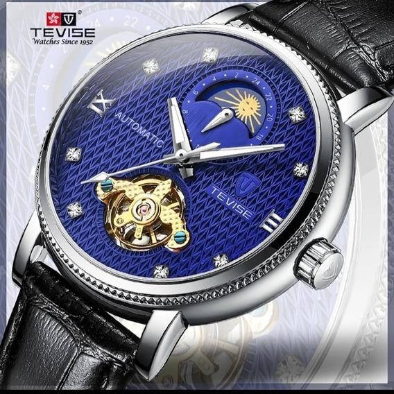 Relógio Masculino Automático Original Cour Funcional E.107
