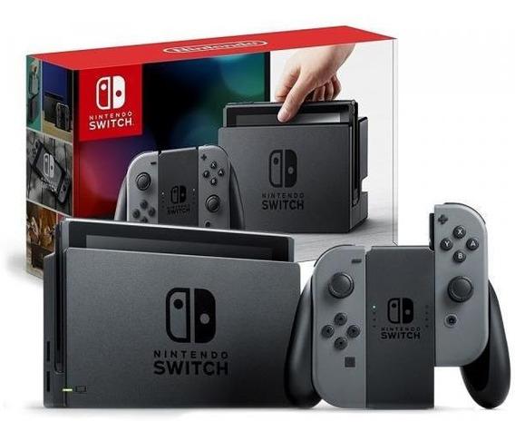 Nintendo Switch Desbloqueado - Sd Card 128gb + Jogos