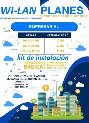 Instalación De Internet Residencial Y Comercial
