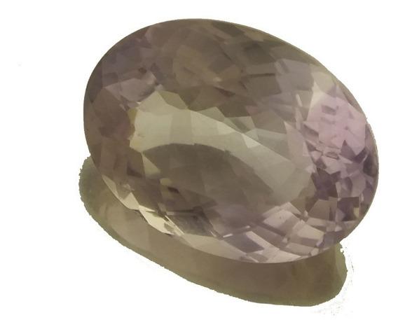 Pedra Preciosa Natural Ametista Clara Oval 20.1 Klt J21543
