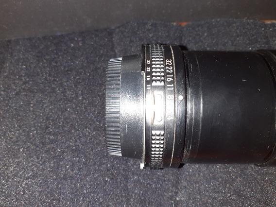 Lente Micro Nikon 200mm Modelo Antigo