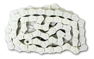 Cadena Kmc 1/2 X 1/8 Hl710 1/2 Eslabón Blanca