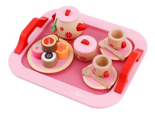 Juego Infantil Set De Té Montessori Waldorf