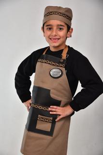 Delantal Cocina Parrilla Niños Pampa + Envío + 12/18 Cuotas!