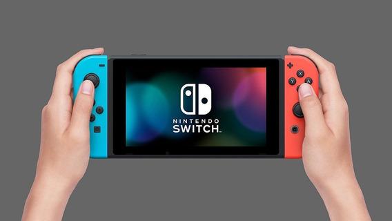 Nintendo Switch + 3 Jogos