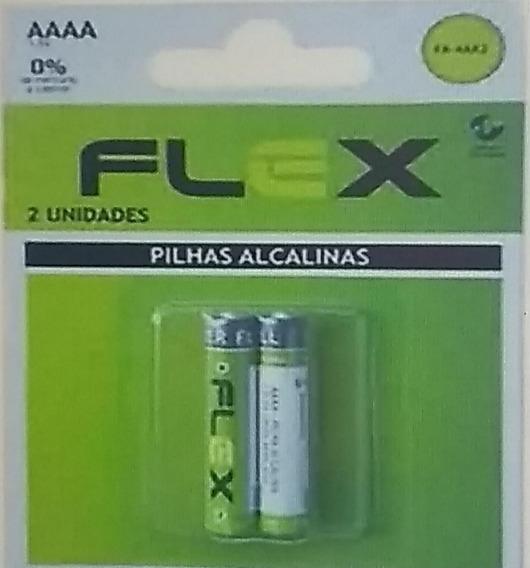 Pilha Alkalina Aaaa 1,5v C/2 Lr8d425 Flex/gp P/caneta Tablet