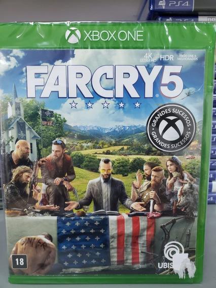 Far Cry 5 Farcry 5 Xbox One Mídia Física Novo 100% Português