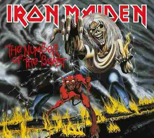 Cd Iron Maiden The Number Of The Beast (1982) Remastered