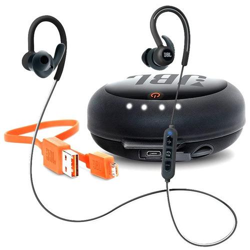 Fone Ouvido Jbl Reflect Contour Bluetooth + Case Carregador