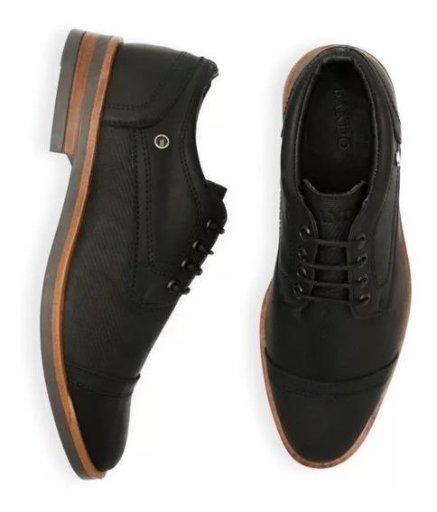 Zapato Hombre 100% Cuero Marca Bando