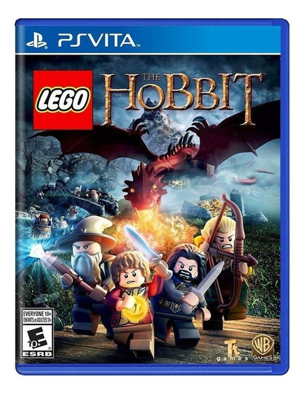 Lego The Hobbit Ps Vita Mídia Física Novo Lacrado