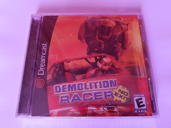 Demolition Racer No Exit Dreamcast Original Americano E Novo